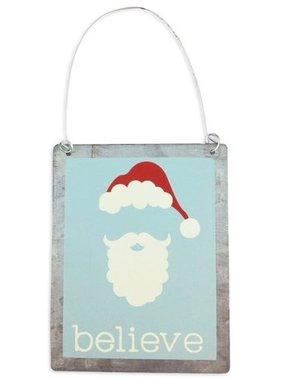 Christmas, Ornament, Believe In Santa