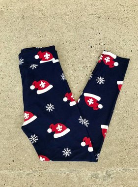 Youth Santa Hat Leggings PRE-SALE