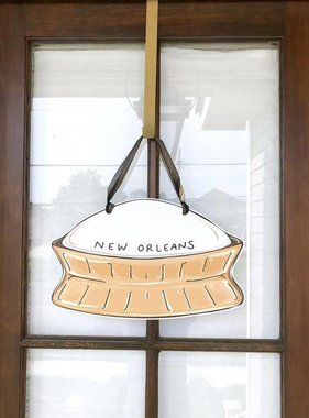 Superdome Door Hanger