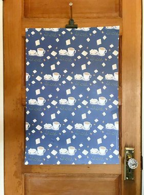 Cafe Au Lait Gift Wrap, Set of 3 Sheets