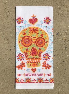 Sugar Skull Towel