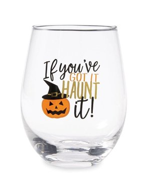 Haunt It Stemless Wine Glass