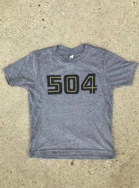 504 Black & Gold Youth Tee