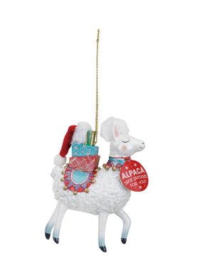 Magical Alpaca Ornament