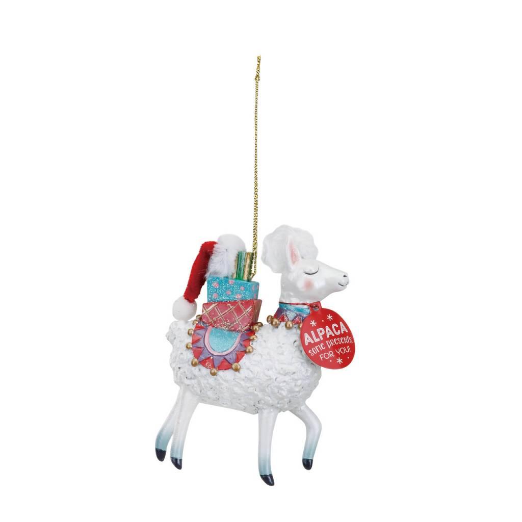 Christmas, Ornament, Magical Alpaca - Fleurty Girl
