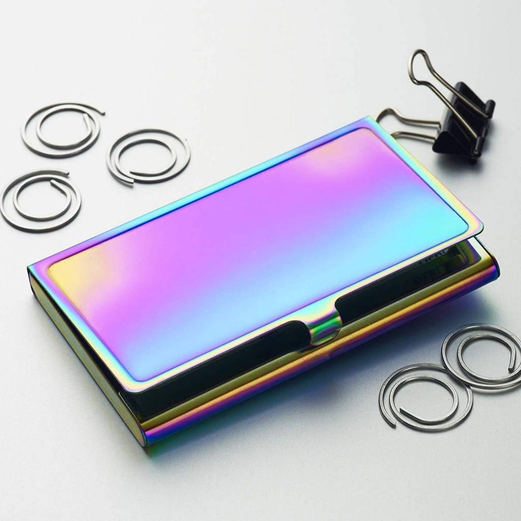 iridescent card holder iridescent card holder - Card Holder