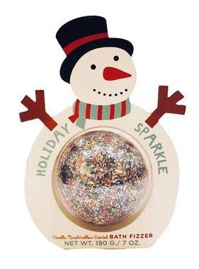 Holiday Sparkle Snowman Bath Fizzer