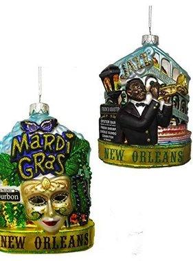New Orleans Cityscape Ornament