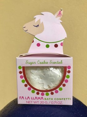 Fa La Llama Bath Confetti