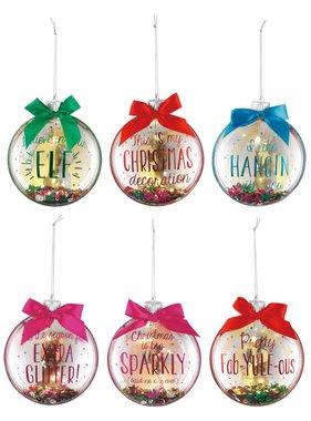 Lit Confetti Ornament