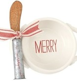 Merry Holiday Dip Bowl Set