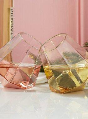 Diamond Stemless Glass