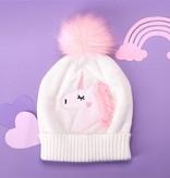 Unicorn Applique Hat