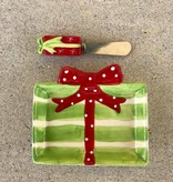 Present Dish and Spreader Set