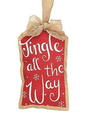 Jingle All the Way Wall Hanger