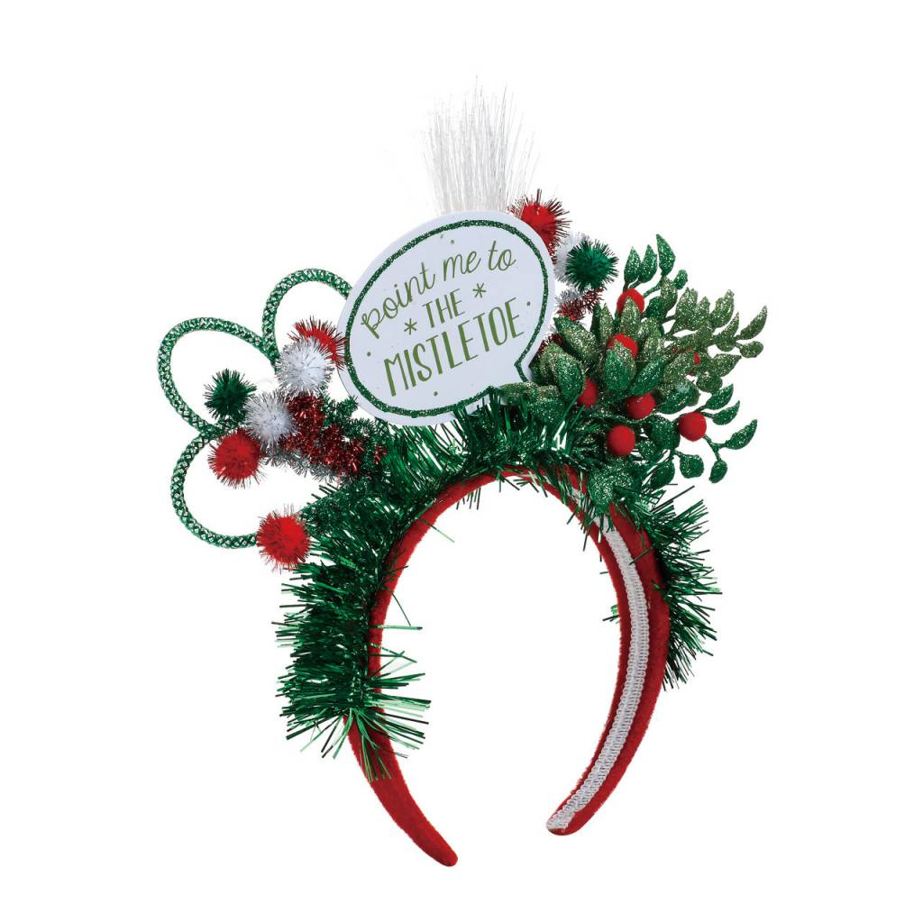 Christmas, Headband, Lit Pretty Fab-Yule-Ous - Fleurty Girl
