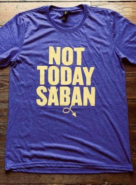 Dirty Coast Not Today Saban Tee