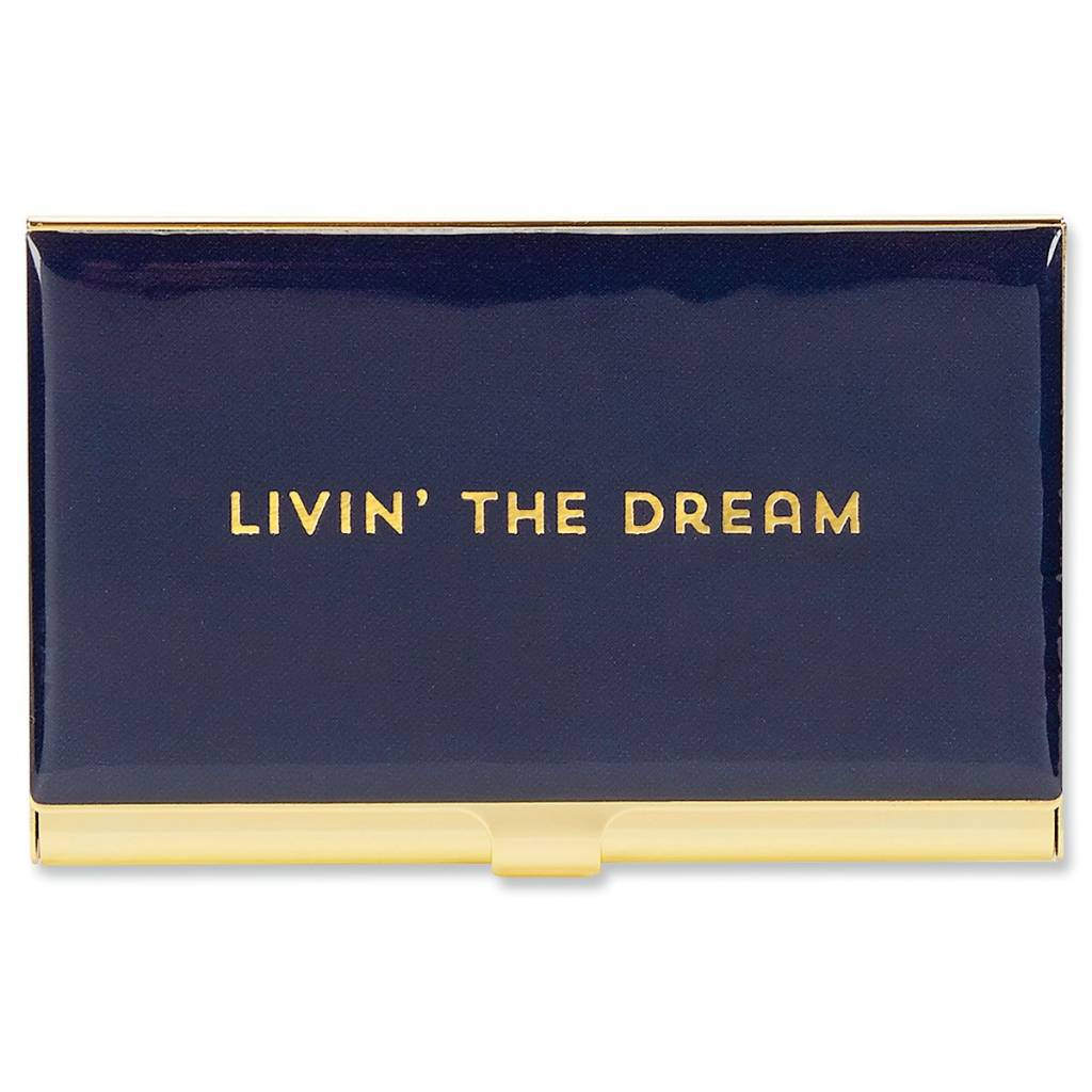 Livin' The Dream Card Holder