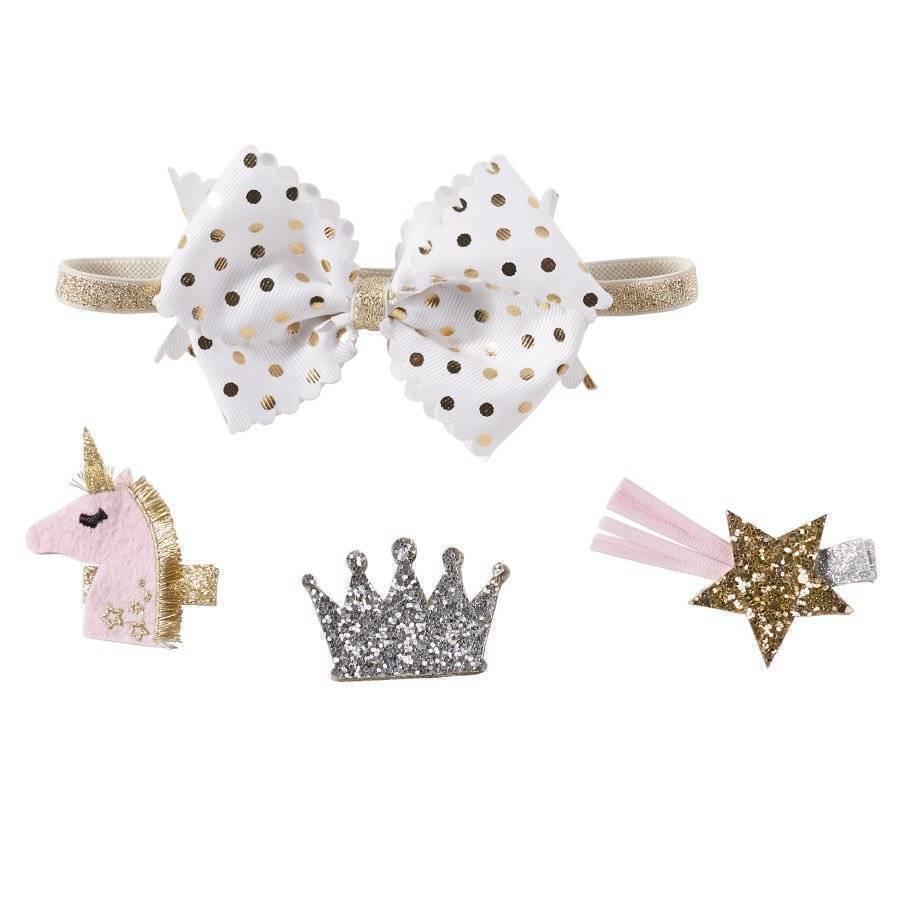 Unicorn Bow Set, Set of 3