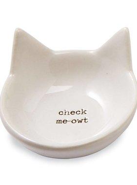 Check Me-owt Cat Trinket Tray