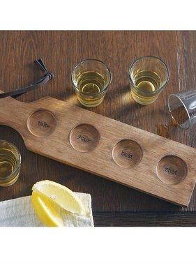Shot Glass Paddle Set