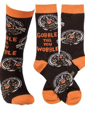 Primitives by Kathy Gobble Wobble Socks