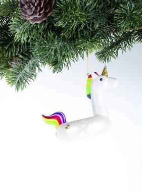 Unicorn Pool Float Ornament