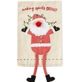 Santa Dangle Leg Towel
