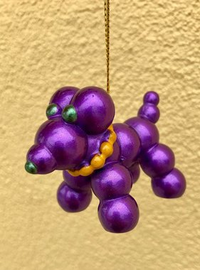 Bead Dog Ornament