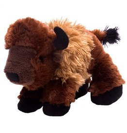 STUFFED BISON MINI HUG'EMS