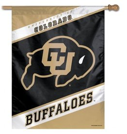 "VERTICAL BUFFALOES 27"" X 37"" FLAG"