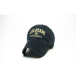 LEGACY BLACK COLORADO FOOTBALL EZA HAT