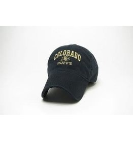 LEGACY BLACK COLORADO BUFFS EZA HAT