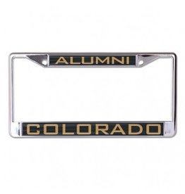 COLORADO ALUMNI LICENSE PLATE FRAME