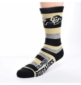 FOR BARE FEET CU MARBLED PRO STRIPE SOCK