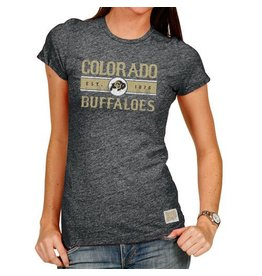 LADIES VINTAGE COLORADO BUFFALOES TEE