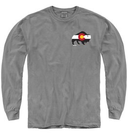 St of COLO FLAG BUFFALO LS TEE
