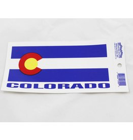 COLORADO FLAG STICKER