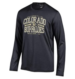 CHAMPION UNIV OF COLO BUFFALOES EPIC LS TEE