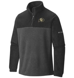 COLUMBIA-OCS FLANKER 1/2 ZIP FLEECE JACKET W/RALPHIE