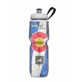 Colorado Flag Polar Bottle- 24oz