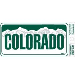 COLORADO SMALL VINYL BUMBER STICKER