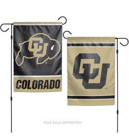 CU BUFFS 2 SIDED GARDEN FLAG
