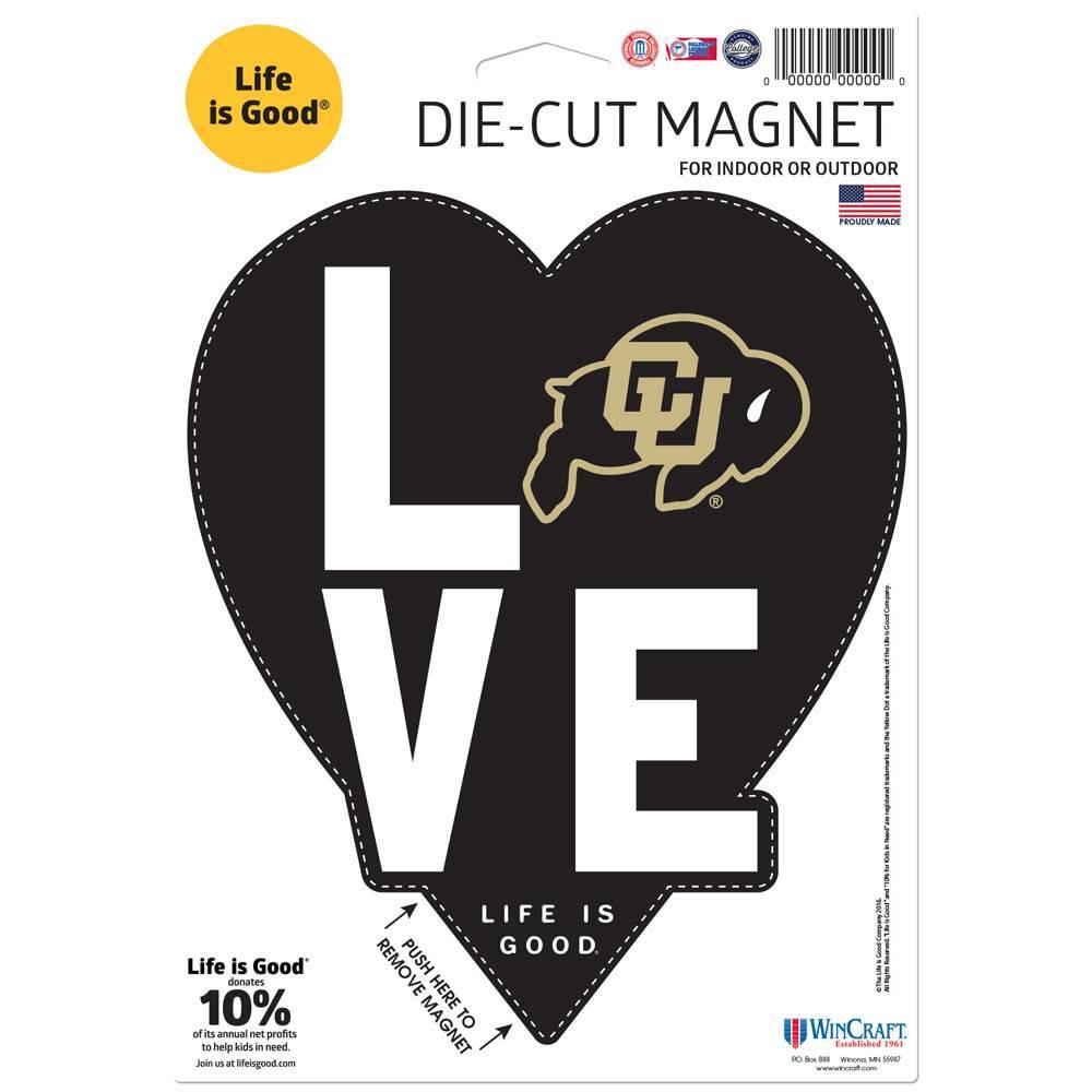 """LOVE CU DIE CUT 6.25"""" X 9"""" MAGNET"""