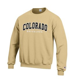 CHAMPION COLORADO BUFFALOES VERSATWILL CREW SWEATSHIRT