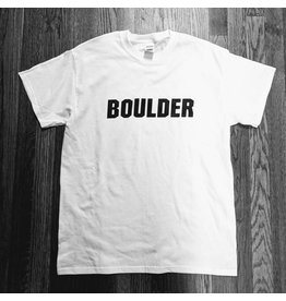 COTTON BOULDER STRAIGHT TEE