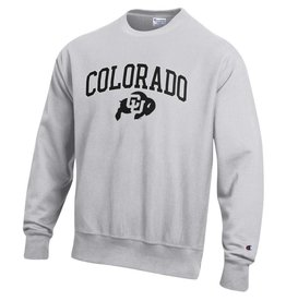 CHAMPION COLORADO BUFFALO REVERSE WEAVE CREW NECK SWEATSHIRT