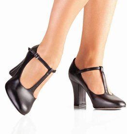 "So Danca So Danca 3"" Broad Heel T-Strap"