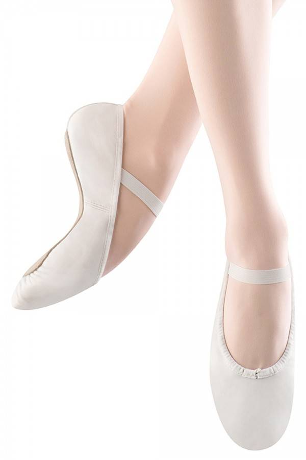 S0205G: Girls' Full Sole Leather Ballet Shoe