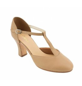 "So Danca So Danca Leather T-Strap 3"" Heel"